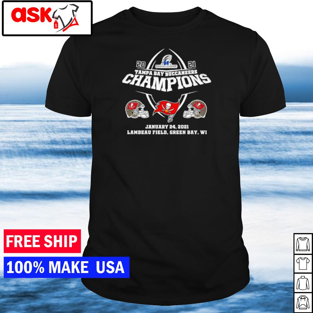 Tampa Bay Buccaneers 2021 Champiopns january 24 shirt